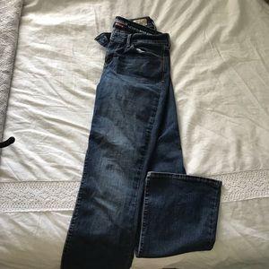 Women's Levi Darkwash bootcut jeans